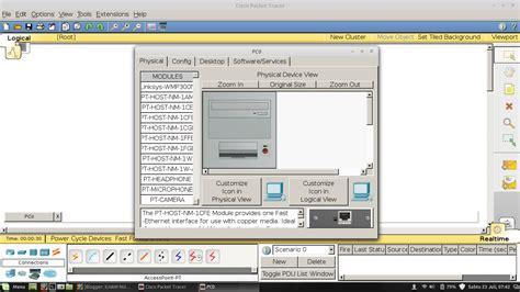 tutorial aplikasi cisco packet tracer tutorial cara membuat simulasi jaringan nirkabel wireless