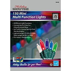 Buy One Get One Minicase Multi Function Showtime 8 Function 150ct Mini Led