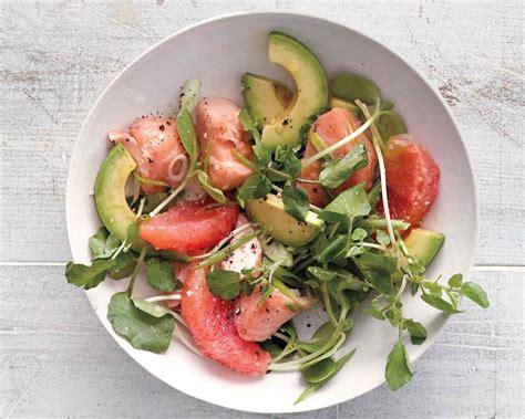 mes recettes de cuisine salade de laitue d 233 pinards d agrumes et d avocat les