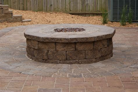 outdoor firepits backyard pit casual cottage