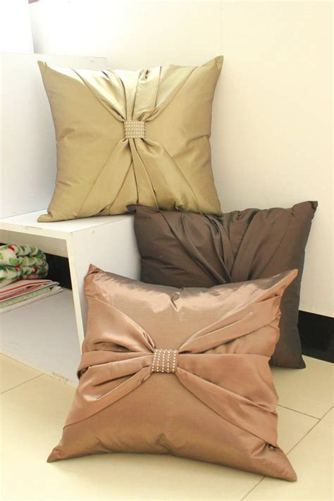Cushion Cover by Suolanduo Free Shipping Bowknot Decorate Cushion Cover