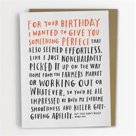Funniest Birthday Cards Adorably Awkward Greeting Cards By Emily Mcdowell Bored