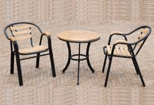 salon de jardin terrasse chaise ikea meubles en bois fer