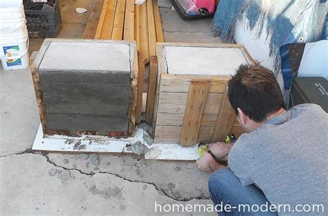 concrete park bench molds diy outdoor concrete bench quiet corner