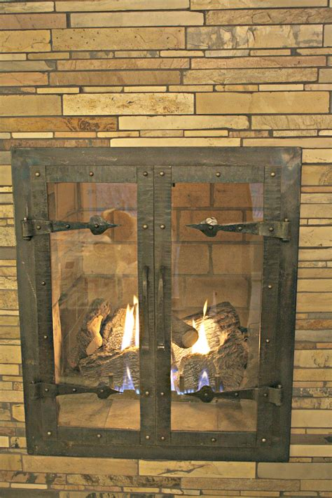 custom iron fireplace doors home decor antietam iron works