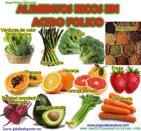 alimentos ricos en vitamina b9 alimentos ricos en acido folico vitamina b9 medicina