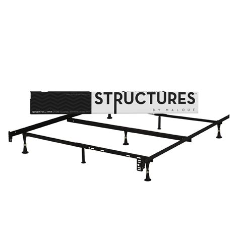 Heavy Duty Metal Bed Frame Heavy Duty 7 Leg Metal Bed Frame Fits Sizes Affordable Beds