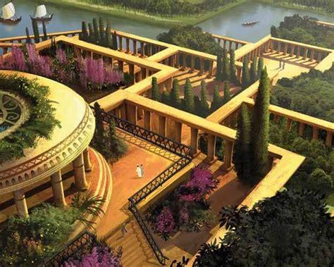 imagenes jardines babilonia los jardines colgantes de babilonia sobrehistoria com