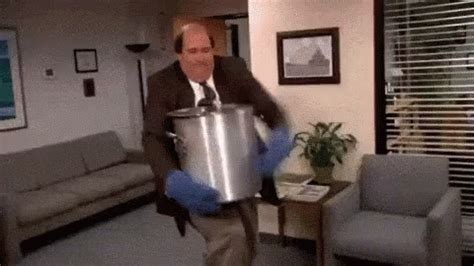 spilled chili the office gif theoffice spill chili