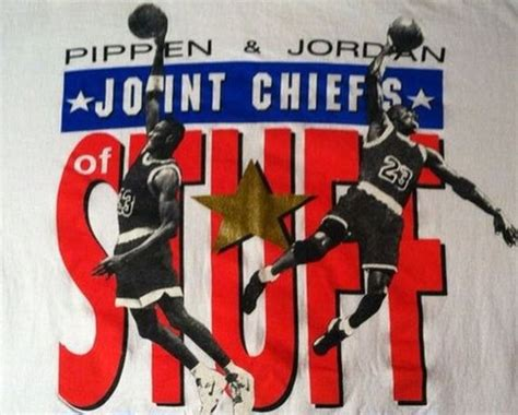 Tshirt Nike Ones Stuff vintage gear pippen quot joint chiefs of stuff quot nike t