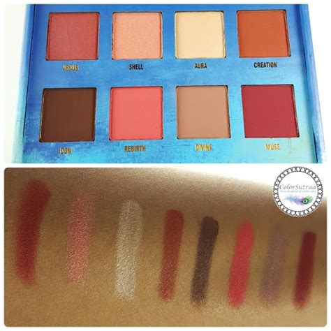 Dijamin Lime Crime Venus Eyeshadow Palette lime crime venus the grunge palette swatches and review colorsutraa