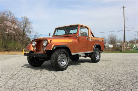 amc jeep scrambler clean 1981 amc jeep scrambler cj8 i