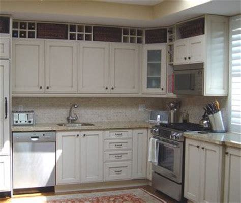 above cabinet storage kitchen pinterest
