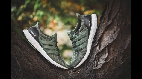 Adidas Ultra Boost 2 0 Green Olive review on adidas ultra boost 2 0 quot olive quot