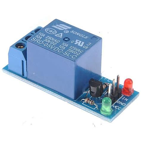 Relay Module Dc 5v 1 Channel High Trigger dc 5v 1 channel low level trigger relay module