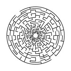 Custom Vinyl Stickers For Walls vinyl labyrinth circle 1 educational vinyls
