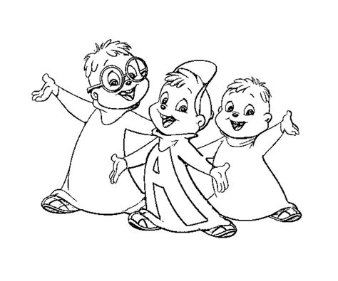 Printable Alvin And The Chipmunks Coloring Pages Coloring Me Alvin And The Chipmunks Coloring Page