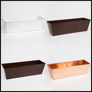 metal plastic window box liners outdoor planter box