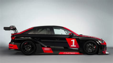 audi race car awesome audi rs 3 lms racing car is ready for tcr