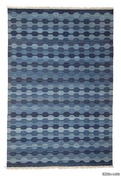 blue kilim rug k0003886 blue light blue new turkish kilim area rug