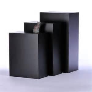 gallery pedestal tecno rectangular gallery pedestals free standing