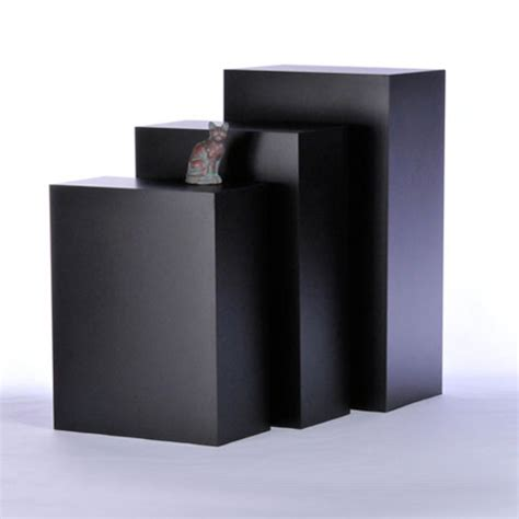 Display Pedestal Tecno Rectangular Gallery Pedestals Free Standing