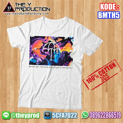 Kaos Bring Me The Horizon Bmth022 kaos bring me the horizon bmth5 kaosbandbandung