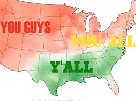 Regional Dialect Meme - these maps prove americans speak totally different