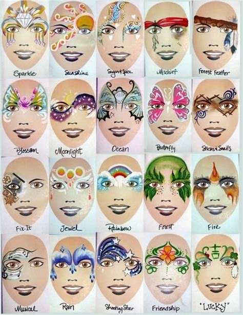 25 best ideas about fairy face paintings on pinterest