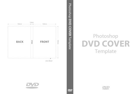 Dvd Cover Template Photoshop dvd cover template psd manxspud