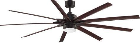 84 inch ceiling fan fanimation fans fpd8149dzw odyn bronze led outdoor 84
