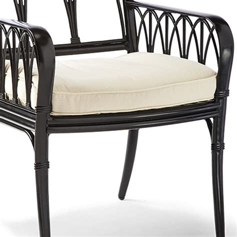 wilshire dining arm chair cushion traditional seat