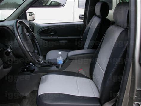 chevy trailblazer seat covers chevy trailblazer 2006 2009 iggee s leather custom seat
