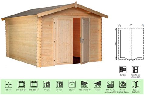 casitas de jardin baratas casetas de jard 237 n econ 243 micas 28 44 mm
