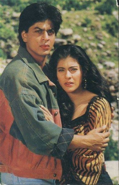 film india karan arjun shahrukh khan and kajol karan arjun 1995 karan arjun