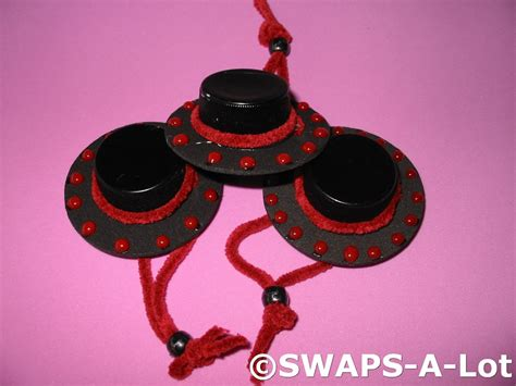 spain crafts for mini hat spain thinking day swaps kit for