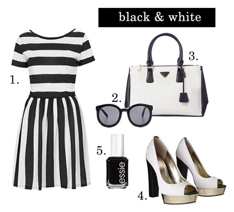 Trend Alert Textural Black And White by Hello Fashion Trend Alert Black White