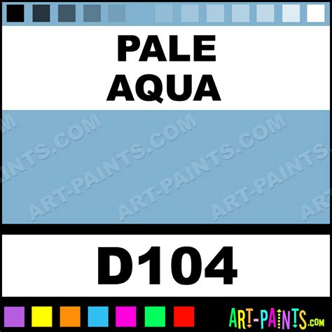 pale aqua acryla gouache paints d104 pale aqua paint pale aqua color holbein acryla paint