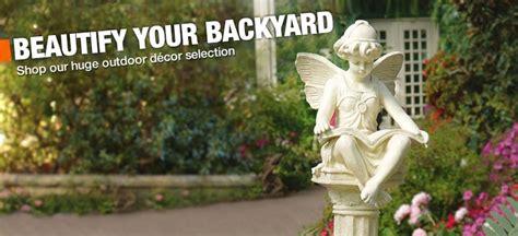 home depot garden decor garden art and outdoor decor