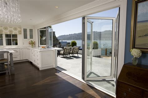 Glass Wall And Door Belvedere Kitchen All Gallery Nanawall Operable Glass Wall Systems