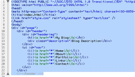 header design html code building custom wordpress theme web designer wall