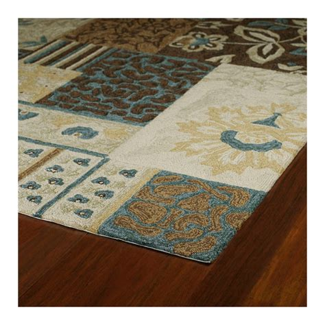 Outdoor Rug 3x5 Kaleen Home Porch Collection Indoor Outdoor Accent Rug