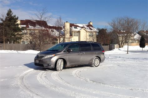 Minivan In Snow by Awd Minivans