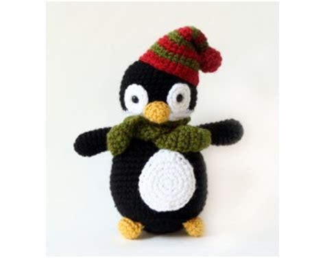 amigurumi pattern penguin amigurumi holiday penguin crochet lion brand yarn