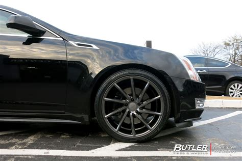 tires for cadillac cts cadillac cts v coupe with 20in vossen cvt wheels