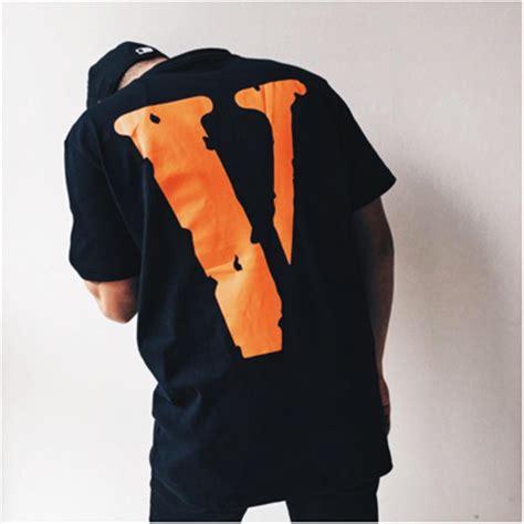 T Shirt Vlone vlone orange v pop up friend t shirt dopestudent