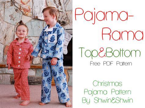 pajama pattern pajama rama pajamas free pdf pattern shwin and shwin