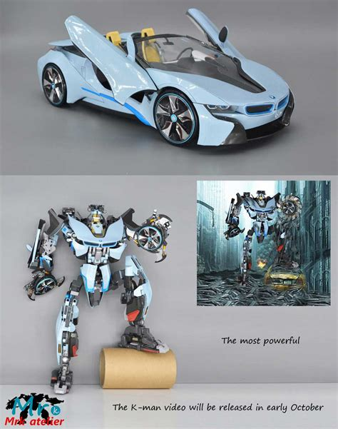 magnificent transformable bmw i8 paper model http www