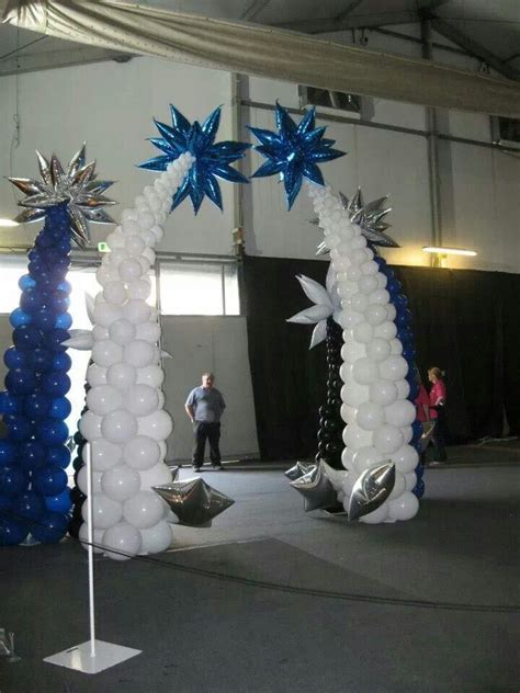 white column arch columns balloons pinterest