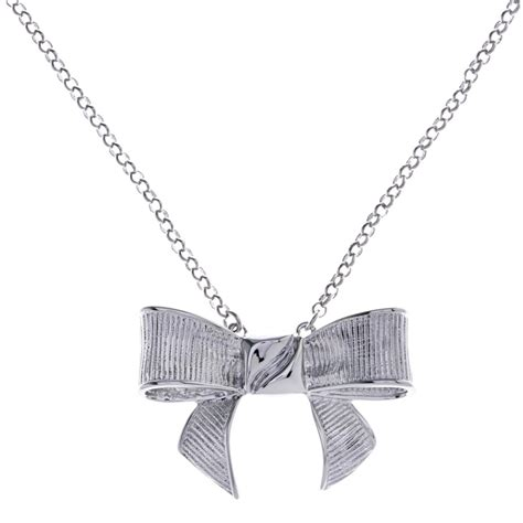 Ted Baker Necklace Bow Top by Ted Baker Gissa Bow Necklace At Jewellery4